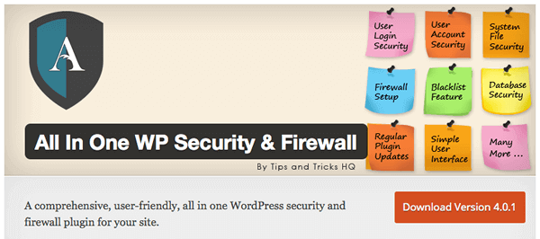 All-in-one-wordpress-security-firewall
