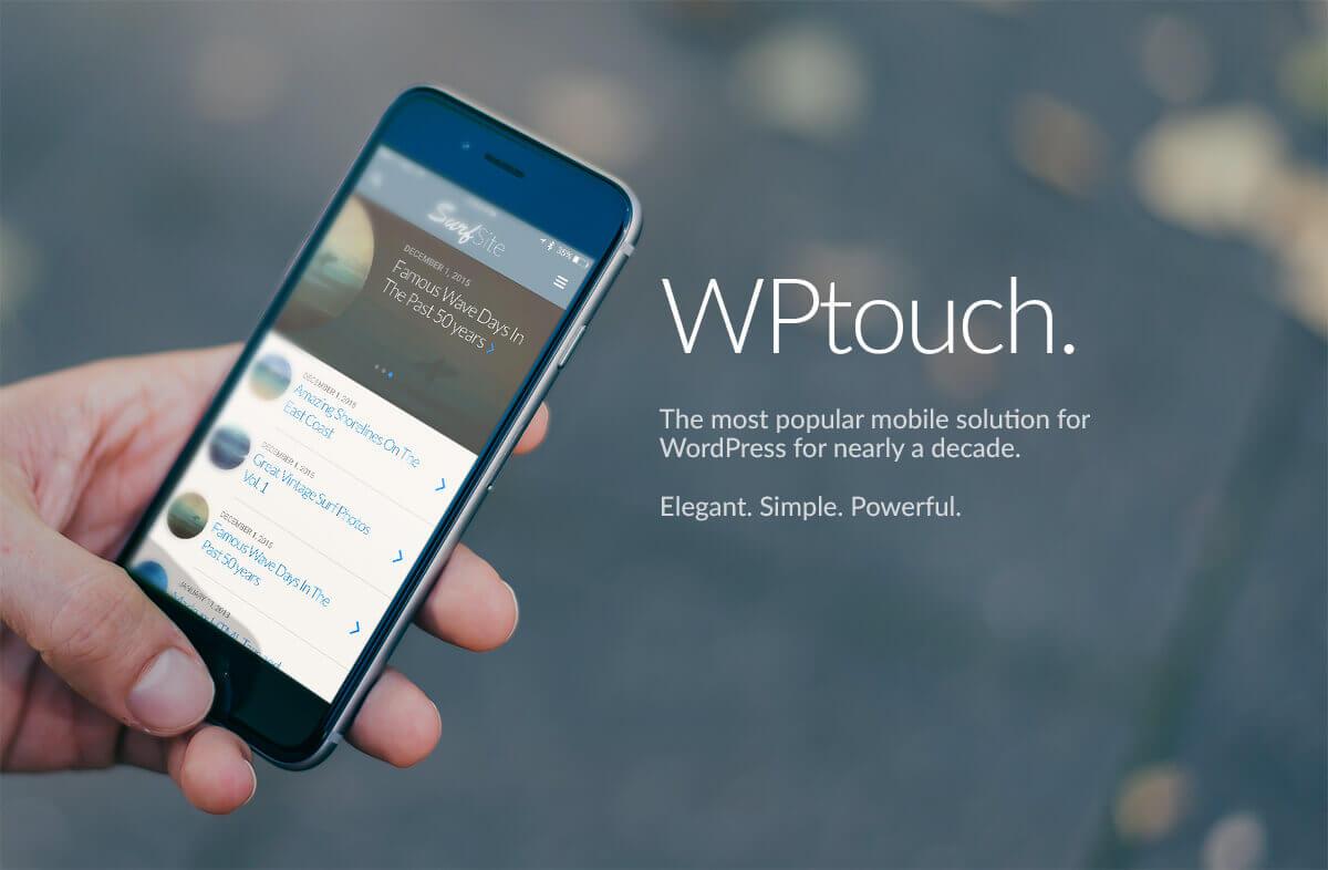 WPTouch-Wordpress